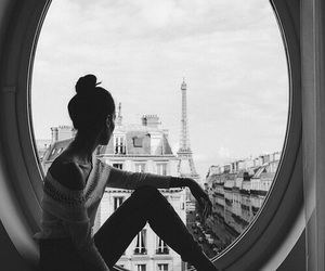 paris, girl, and beautiful image