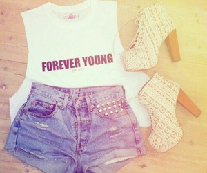 Forever Young, heels, and summer image