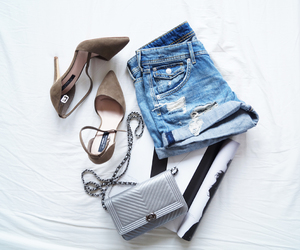 clothes and heels image