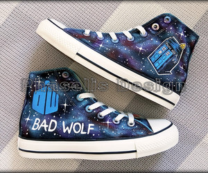 badwolf, doctor, and converse image