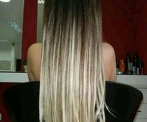 girl, hairs, and cabello image