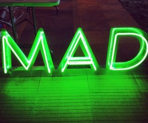 green, mad, and neon image