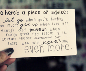 quote, love, and advice image