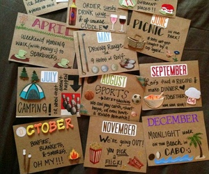 diy, gift, and month image