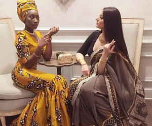 African, beauty, and woman image