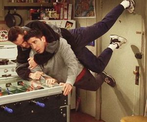 friends, funny, and David Schwimmer image