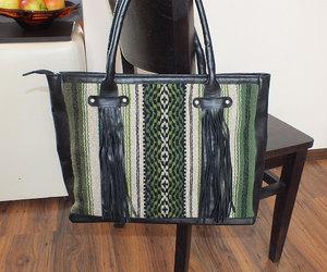 bags, etsy, and fringe bag image