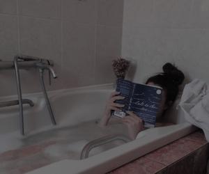 bath, book, and salt to the sea image