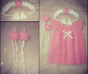 crochet, girl, and baby image