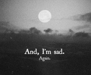 lost, sadness, and sad image
