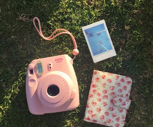 floral, instax, and summer image