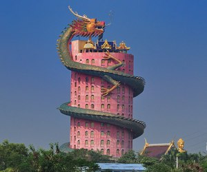 dragon, pink, and aesthetic image