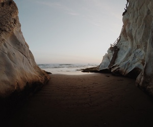 beach, nature, and ocean image
