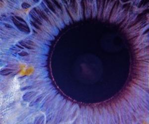 eye, grunge, and purple image