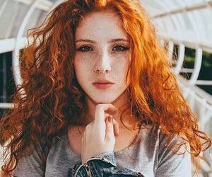 ginger and hair image