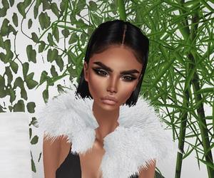 fashion, imvu, and virtual image