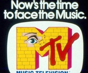 mtv, 90s, and music image