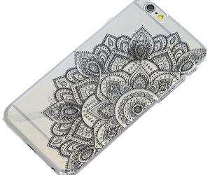 etsy, iphone case, and black henna image