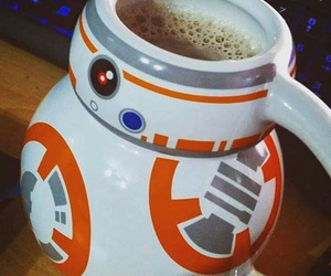 coffe, film, and geek image