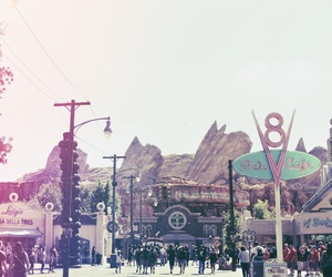 california adventure, cars, and disney image