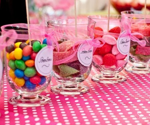 decoration, pink, and sweets image