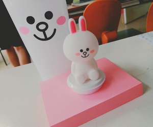 doll, white, and cony image