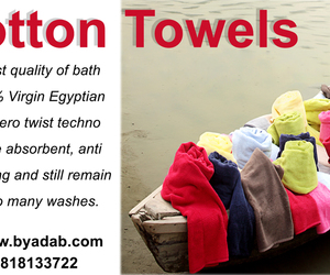 fashion, towels, and bath linens image