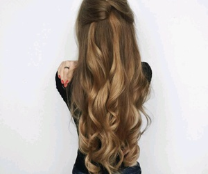 curly hair and hair style image