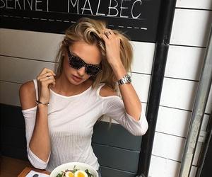 fashion, food, and model image