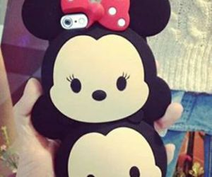 case, iphone, and mickey image