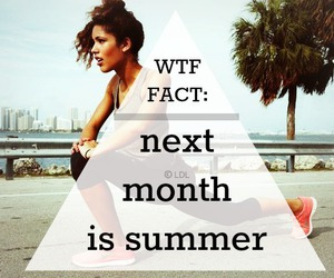 summer, fitness, and girl image