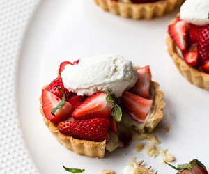 food, sweet, and strawberry image