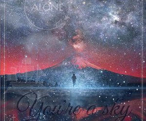 alone, sky, and world image