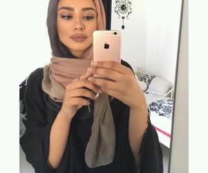 beauty, Dubai, and hijab image