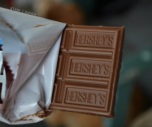 chocolate, hershey's, and food image