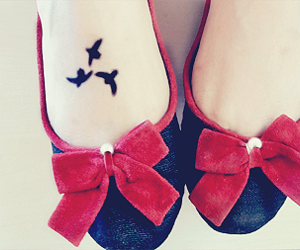 delicate, girl, and shoes image