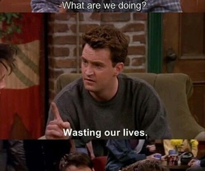 friends, funny, and tv show image