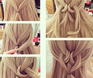 blonde, diy, and pretty image