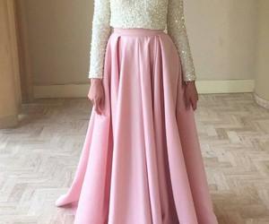hijab and pink image