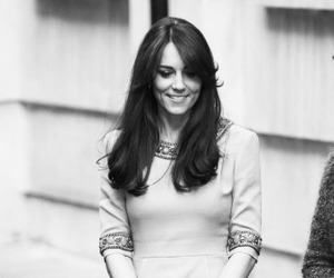 black & white, kate middleton, and british royal family image