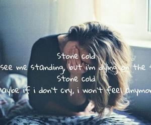 demi lovato, girl, and Lyrics image