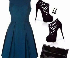 dress, fashion, and shoes image