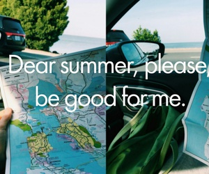 summer, good, and map image