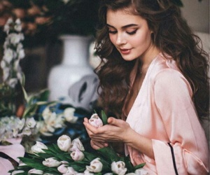 flowers, beautiful, and fashion image