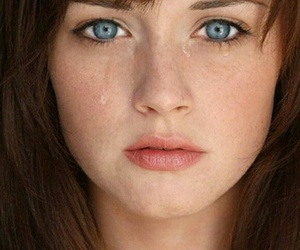 alexis bledel, blue eyes, and fifty shades of grey image