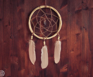 amethyst, Dream, and dream catcher image