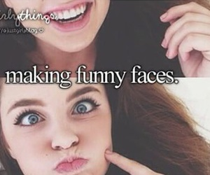 girl, face, and funny image
