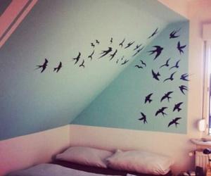 bird, bedroom, and room image