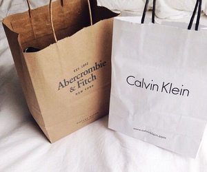 Calvin Klein, shopping, and bag image