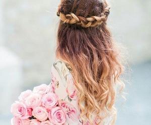 beautiful, beauty, and braid image